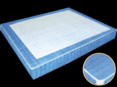 4-side 2-row Strengthen Subarea Separate Spring Mattress